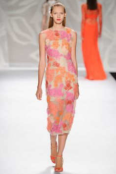 Monique Lhuillier - Spring 2014 Ready-to-Wear Collection