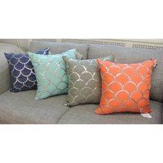 You'll love the Suzanne Square Decorative Throw Pillow at Wayfair - Great Deals on all Bed & Bath  products with Free Shipping on most stuff, even the big stuff.