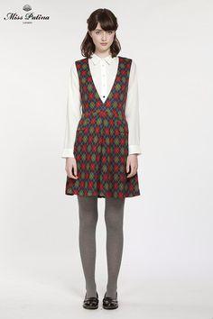 Highland Dress (Argyle) - Miss Patina - Vintage Inspired Fashion