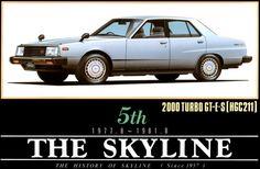 ニッサン スカイライン 2000GT-ES /  SKYLINE 2000GT-ES [ HGC211 ]