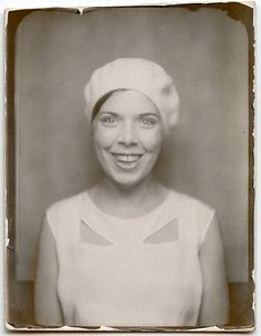 ** Vintage Photo Booth Picture **  Happy Days...