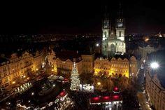Viajar en Navidad a Praga, la ciudad de las torres
