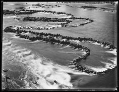 The fish traps at Brewarrina are extraordinary and ancient structures. Why aren't they better protected? / A glass-plate negative of the fish traps dating from Photograph: Powerhouse Museum Sydney Aboriginal Education, Aboriginal Culture, Aboriginal People, Aboriginal Art, Indigenous Education, South Wales, Australian Aboriginal History, Australian Art, Outback Australia