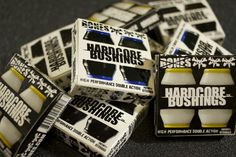 #OrbitSkate has the #bones bushings you need! Soft medium and hard in stock! @boneswheels and don't forget it's #MondayMadness buy any set of #boneswheels and grab a free set of bearings!