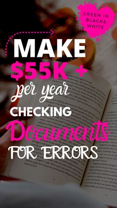 Proofreading is one of the best work from home jobs you can do. Get paid up to $55k a year with no experience and no need for degree. #makemoneyproofreading   #proofreadingjobs #businessideas #howtomakeextramoneyfromhome Earn Money From Home, Earn Money Online, Way To Make Money, Online Jobs For Moms, Legit Online Jobs, Legit Work From Home, Work From Home Moms, Easy Business Ideas, Single Mom Help
