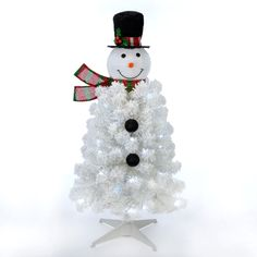 🖤🤍❤️💚 White Artificial Christmas Tree, Pencil Christmas Tree, Christmas Light Bulbs, Christmas Snowman, Christmas Tree Decorations, Christmas Wreaths, Simple Christmas Cards, Snowman Tree, Noel