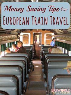 Money Saving Tips for European Train Travel