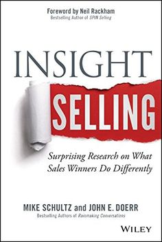 Insight Selling: Surprising Research on What Sales Winners Do Differently by Mike Schultz http://www.amazon.com/dp/1118875354/ref=cm_sw_r_pi_dp_8yYTvb0JDDB4K