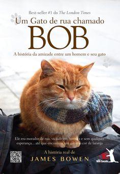 Um Gato de Rua Chamado Bob, James Bowen e Novo Conceito http://www.leitoraviciada.com/2013/06/um-gato-de-rua-chamado-bob-james-bowen.html