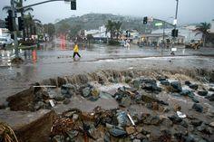 #LagunaBeach flooding