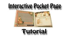 Interactive Pocket Page Tutorial used for my Eerie Tale & Romance Novel ... **************יצירת דף כיס******