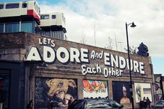 Let's adore and endure each other <3
