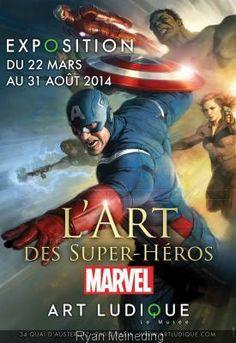 Expo Marvel jusque fin août 2014