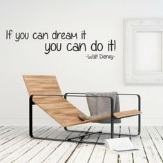 If you can dream it, you can do it wallsticker