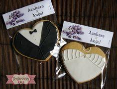 Galletas decoradas: Boda de Azahara y Angel | La Casa de las Tentaciones