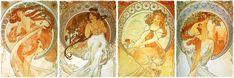 """The Arts"" by Alphonse Mucha"