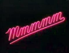this neon sign would fit right in at a strip club.