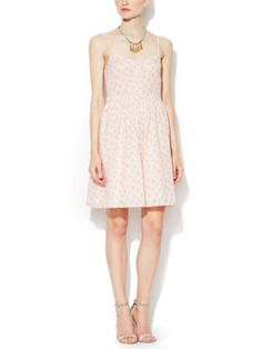 Palm Printed Cotton Dress from French Connection on Gilt