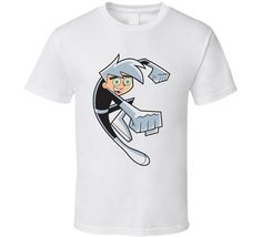 Danny Phantom Nickelodeon T Shirt by CrescendoWear