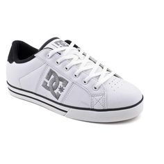 DC Belmar Womens Size 9.5 White White/Black Leather « Shoe Adds for your Closet