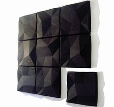Autex Quietspace 3D Acoustic Wall Tile - available in braille dots and recessed…