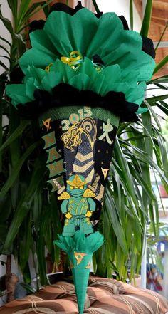 Handarbeit Schultüte Zuckertüte Ninja Schlange Neu Ninjago für Jungen + Name in Büro & Schreibwaren, Schulbedarf, Schultüten | eBay