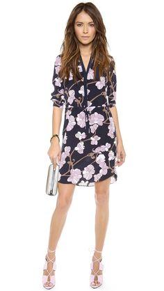 Diane von Furstenberg Freya 3/4 Sleeve Dress - like this look