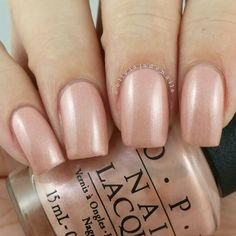 OPI Humidi-Tea is a nude shimmer