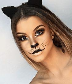 Cat Halloween Makeup, Halloween Eyes, Cat Makeup, Easy Halloween, Halloween Costumes, Women Halloween, Halloween Party, Halloween Nails, Halloween Decorations