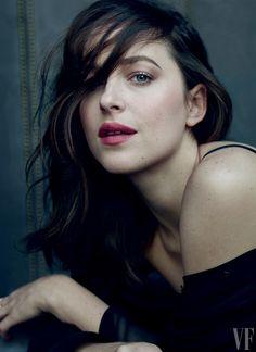 Dakota Johnson stars in Vanity Fair magazine's February 2017 Hollywood Issue