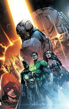 #Justice #League #Fan #Art. Justice League Darkseid War, Chapter One: God vs. Man. Vol.2 #41 Cover) By: Jason Fabok & Brad Anderson. (THE * 5 * STÅR * ÅWARD * OF: * AW YEAH, IT'S MAJOR ÅWESOMENESS!!!™)[THANK Ü 4 PINNING!!!<·><]<©>ÅÅÅ+(OB4E)   https://s-media-cache-ak0.pinimg.com/564x/f1/5d/10/f15d10b78513fac812b2fd5890015e92.jpg