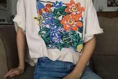 flowers, indie, and grunge