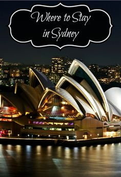 Sydney is a fairly large city and choosing the right place to stay is difficult, if you choose the wrong hotel it can put a real damper on your trip. Through this article I will give you options from Backpacking to High Class Luxury (and everything in-between).