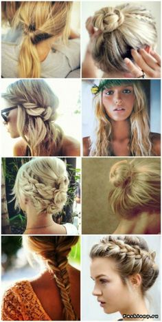 Hair styles to try out