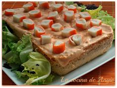 La cocina de Angie: PASTEL DE ATÚN AL MICROONDAS Low Carb Recipes, Healthy Recipes, Hors D'oeuvres, Light Recipes, Cooking Time, Sandwiches, Food And Drink, Appetizers, Yummy Food