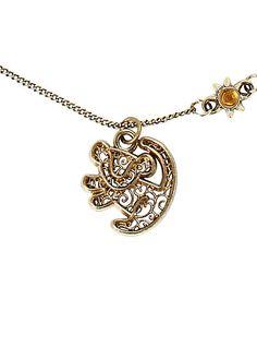 Disney The Lion King Simba Filigree NecklaceDisney The Lion King Simba Filigree Necklace,