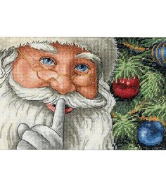 Dimensions Counted Cross Stitch Santa's SecretDimensions Counted Cross Stitch Santa's Secret,