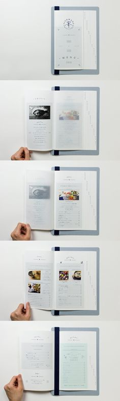 i like the tab system on this menu. can separate tacos from appetizers. really cool and beautiful detail: Menu Layout, Book Design Layout, Print Layout, Menu Restaurant, Restaurant Design, Editorial Design, Editorial Layout, Lettering, Typography Design