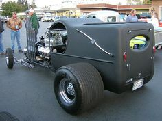 1923 C cab Model T Hearse? why the rush to the grave yeard?