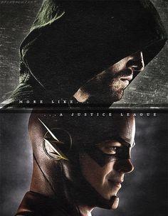Flash and Arrow.