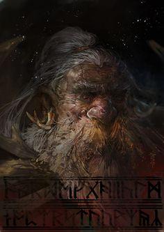 Venerable warrior , Svetoslav Petrov on ArtStation at https://www.artstation.com/artwork/xozZR