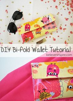 Handmade Wallet Tutorial - Free Sewing Tutorial - Sew Some Stuff