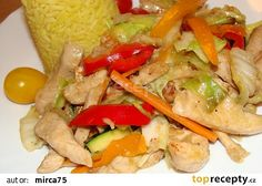 Kuřecí směs se zeleninou (čína) z woku recept - TopRecepty.cz Tacos, Mexican, Meat, Chicken, Ethnic Recipes, Mexicans, Cubs