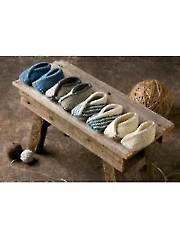 Knit - Tiptoe Slippers Knit Pattern - #AK00779