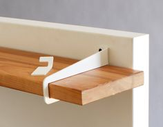 Wall Stirrup Shelf Brackets - MUST HAVE! - wall shelves, over the door shelves, quick storage that you can take with you in a snap.  LOVE!