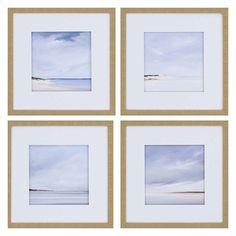 Paragon Shores Framed Wall Art - Set of 4 - 1932