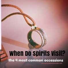 When do spirits visit us? Do spirits visit when you're alone? This post goes over the most common places where your deceased loved one will visit you and the most common times to expect a spirit visitation - Psychic Development, Spiritual Development, Spiritus, Psychic Mediums, Ghost Hunting, Psychic Abilities, Wiccan, Witchcraft Spells, Spirit Guides