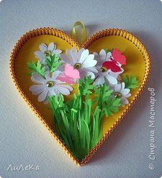 Такие подарочные сердечки вы и ваши дети сможете сделать к любому празднику. Идея взята у Любови Грасмик http://stranamasterov.ru/node/871405 фото 16