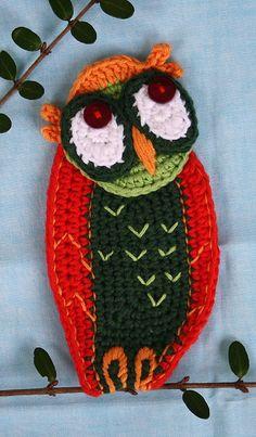 SCREECH OWL Crochet Pattern