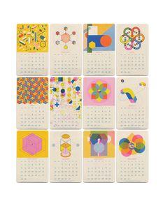 2019 Isometric Wall Calendar in color Kids Calendar, 2019 Calendar, Calendar Design, Blank Calendar, Magazine Design, Graphic Design Magazine, Branding, Cool Calendars, Identity